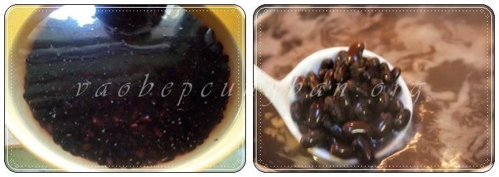 Cách nấu chè hạt sen với đỗ đen nhanh nhừ 1
