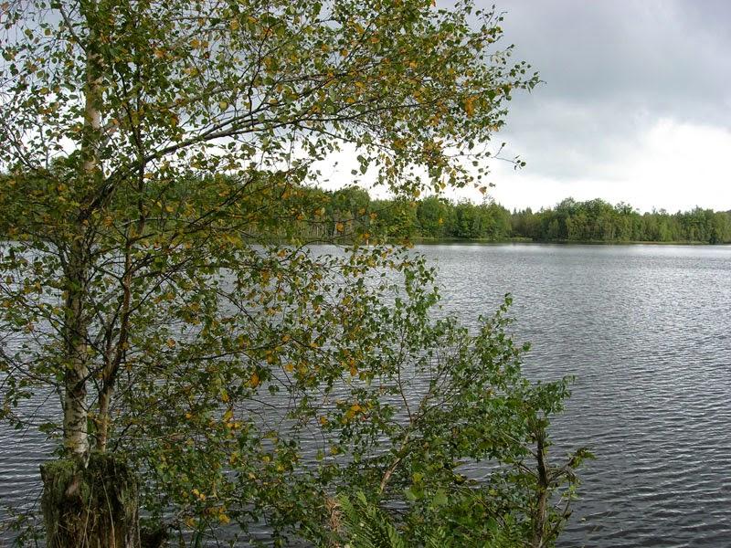 Un lago a settembre