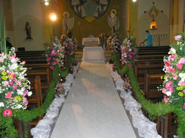 decorar um casamento: Decoração: Ideias para Decorar uma Igreja para um Casamento