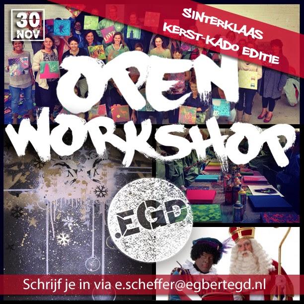 30/11: OPENWorkshop.EGD Sinterklaas en/of kerst-kado editie