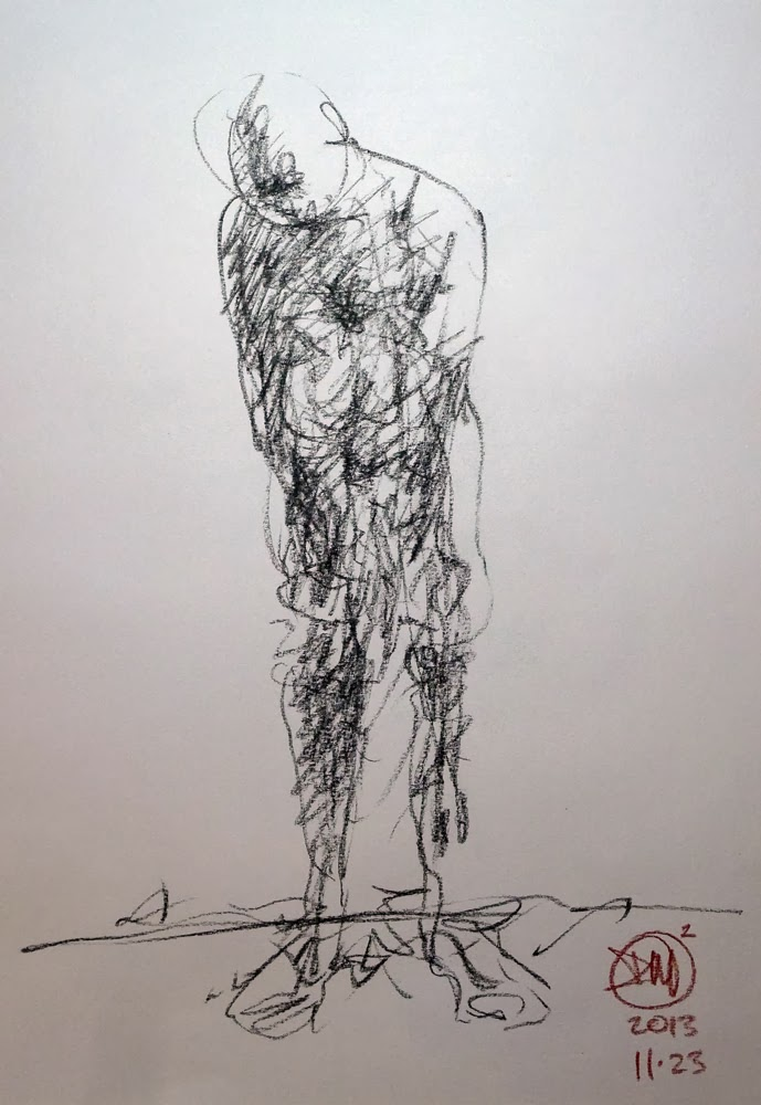 2 minute nude by David Meldrum
