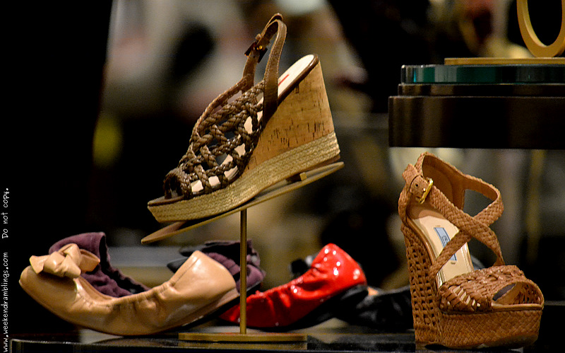 Prada Designer Shoes Women Fashion Summer Spring 2012 Trends Alert Wedges Platforms Braided Woven Sandals