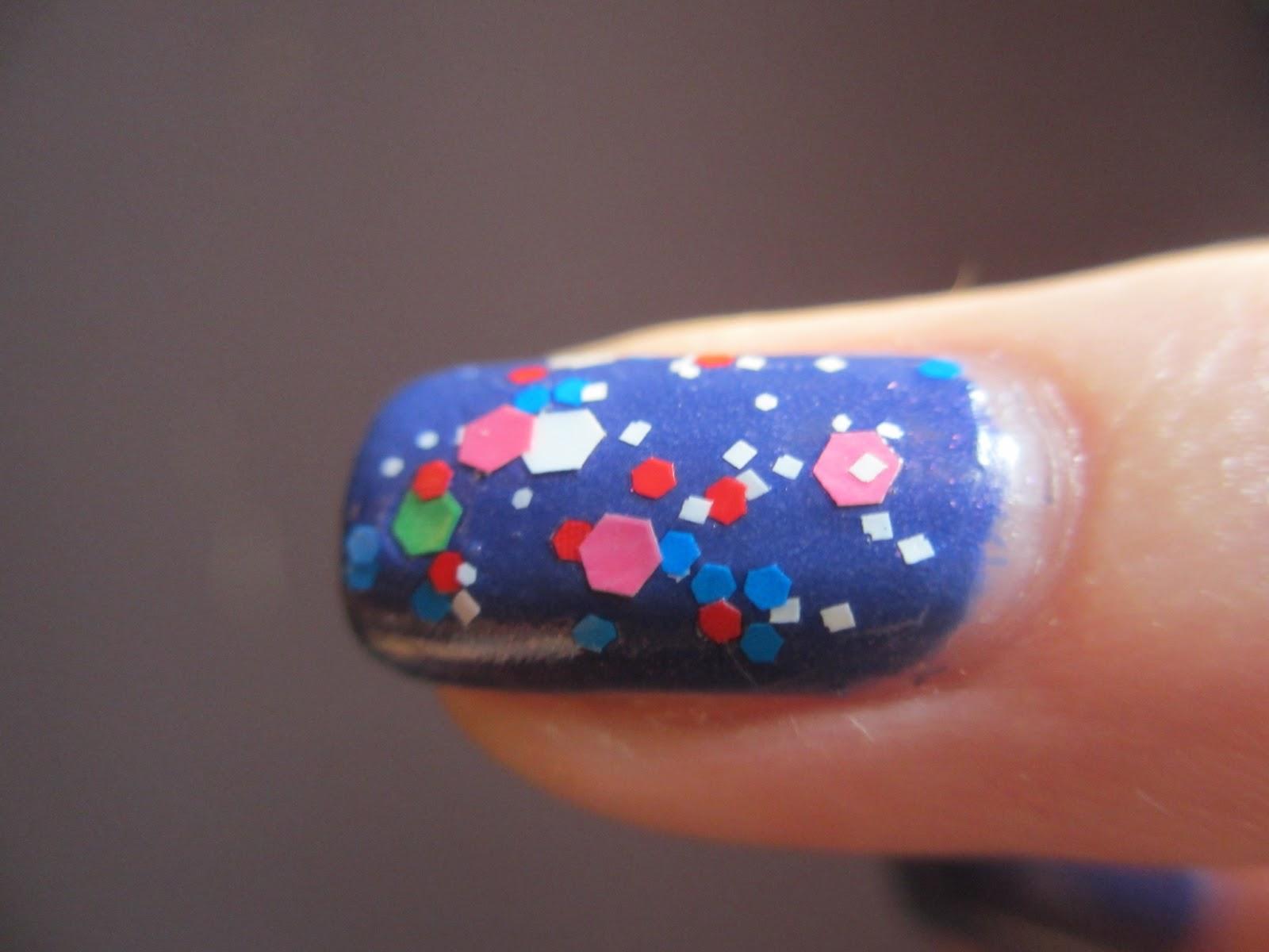 face shop colored paper nails CMX321
