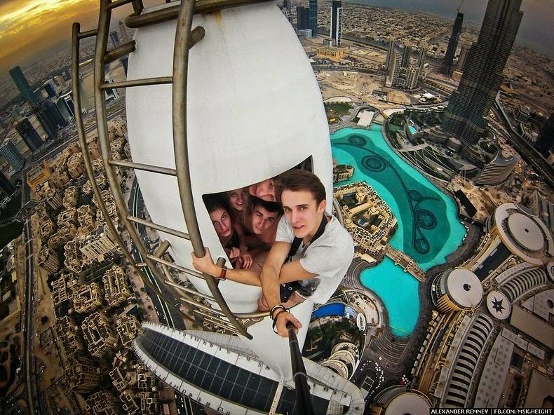 selfies peligrosos
