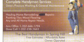 Best Handyman In Spring Hill