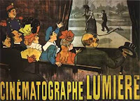 First Movie Poster Ever - Louis Lumiere's L'arroseur Arrosé from 1895