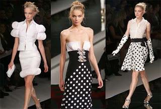 Vestidos em Preto e Branco