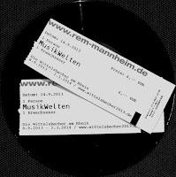 Eintrittskarten Musikwelten Mannheim