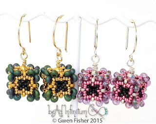 Beaded Bead Earrings Pattern