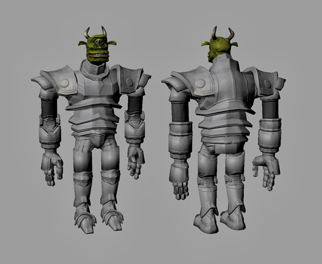 Troll Normals WIP #1