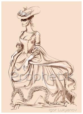 moda del XIX secolo