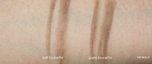 Hourglass Arch Brow Sculpting Pencil, review, swatch