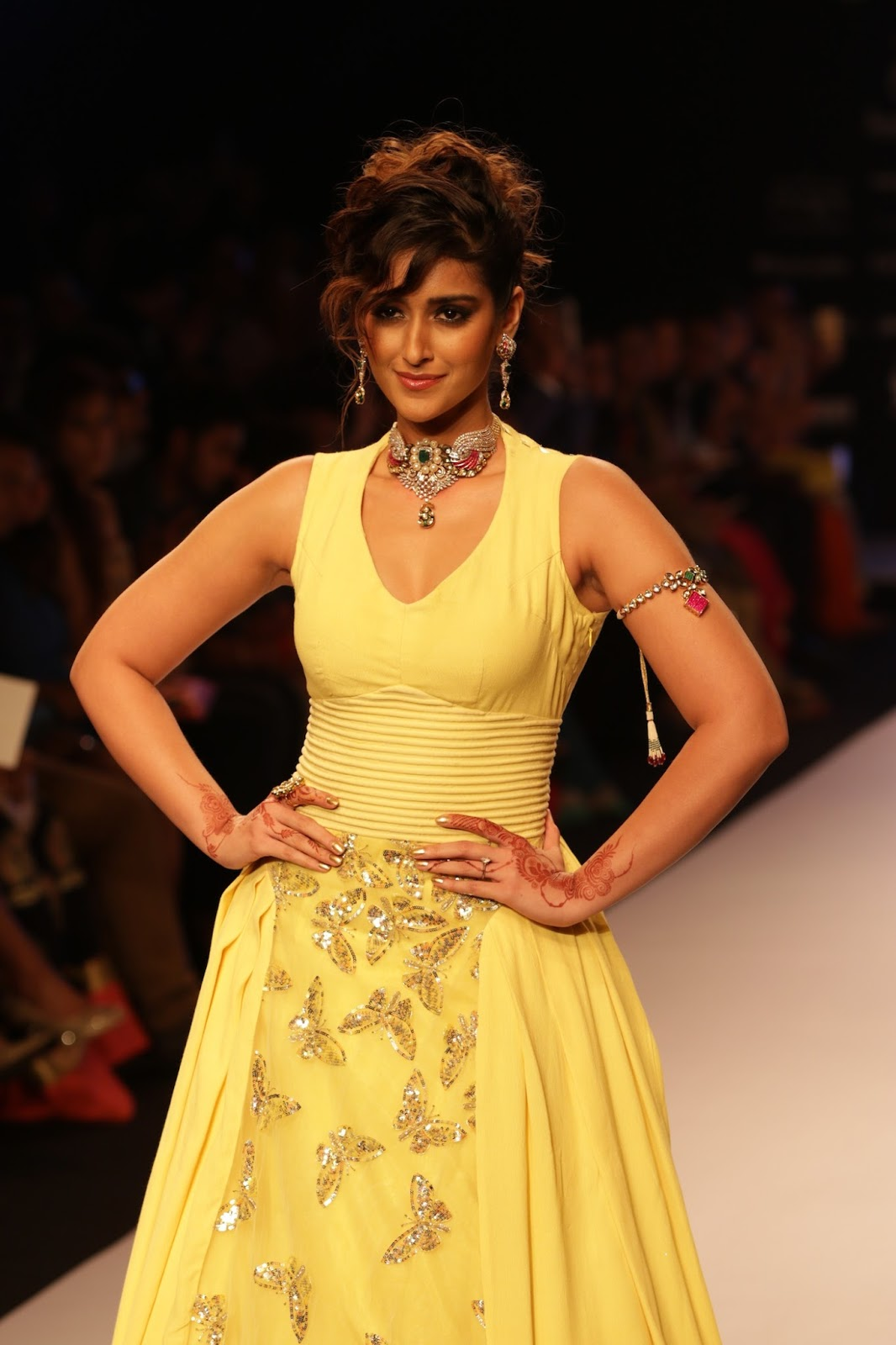 Ileana Ramp Walk Stills at IIJW 2015-HQ-Photo-2