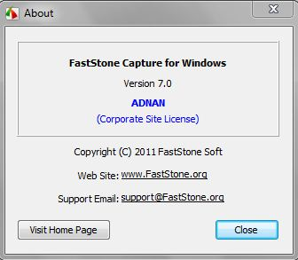 faststone capture free download