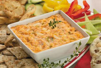 Meals for Moms: Hot Jalapeno Crab Dip