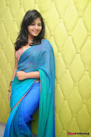 actress anjali hot saree photos at masala telugu movie audio launch+(18) Anjali Saree Photos at Masala Audio Launch