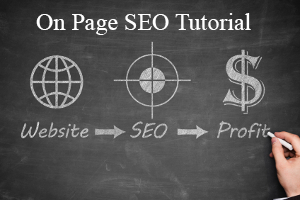 tutorial for on page seo