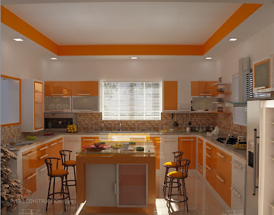 Modern Kitchen Kerala evens construction pvt ltd: modern kerala kitchen