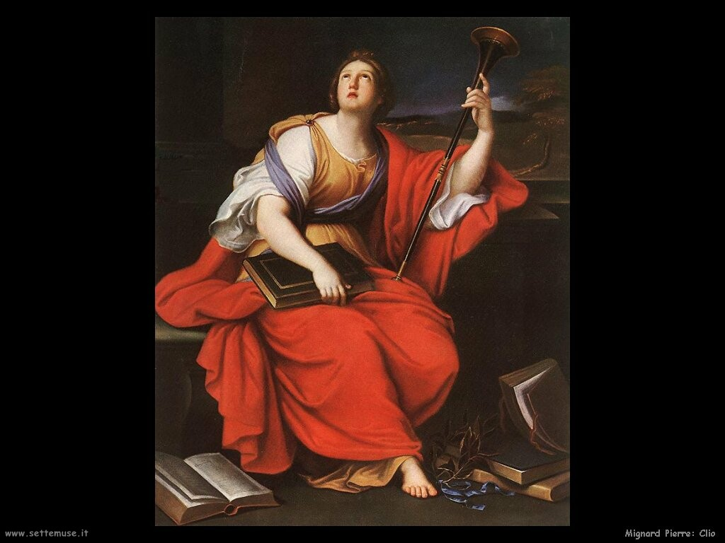 Clio- Muse of Heroic Poetry and History, 17th century