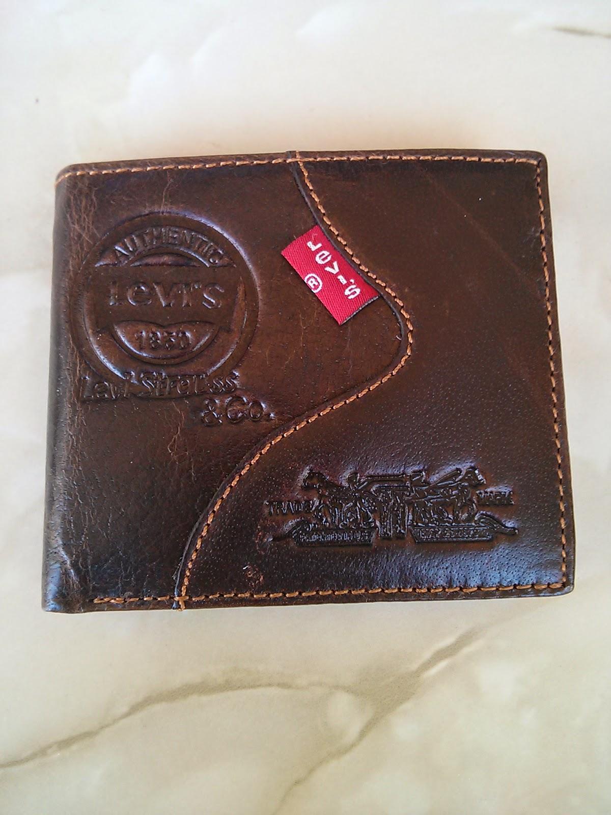 cartera Levi's de piel