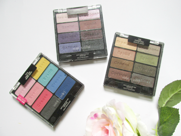 Wet`n Wild Coloricon Eyeshadow Paletten - Swatches