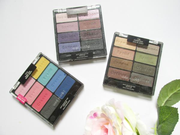 Wet`n Wild Coloricon Eyeshadow Paletten - Swatches
