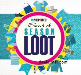 ShopClues End of Season Loot