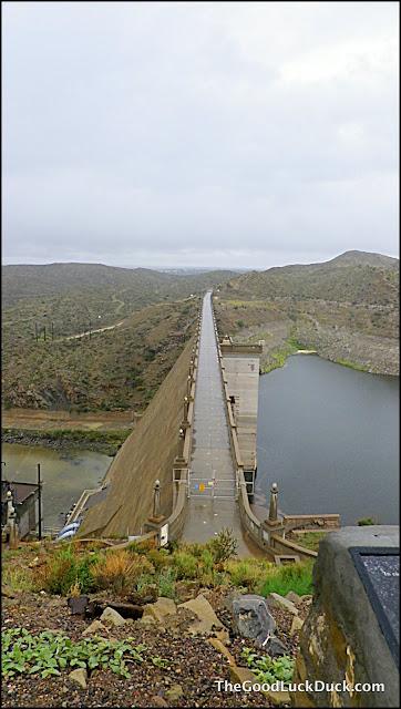 Elephant Butte Lake Dam