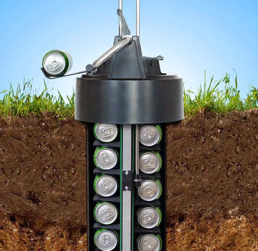 eCool in-ground beer storage system