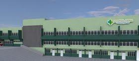 Lateral do novo Hospital Geral de Acopiara