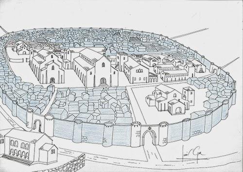 El reino del Norte (José Javier Esparza) -- Oviedo en el año 842