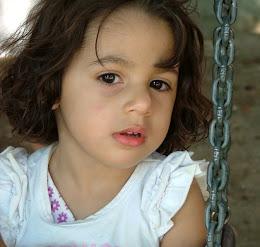 Rafaela é minha neta! Rafaela, é ela que me da forças par sonhar!