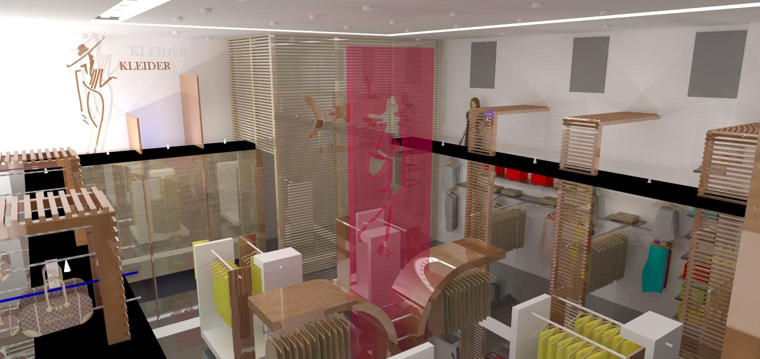 Dise o de interiores kleider per moda trabajos en 3d for Diseno de interiores en 3d