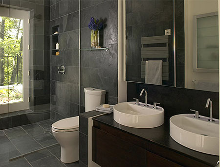Dise os y decoraci n dise a y decora ba os modernos 2012 for Bathroom design 5m2