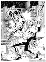 Iron Man Melawan Penjahat Ditengah Kota