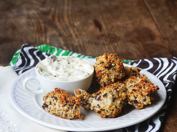 Shark Bait: Bean and Lime Crusted Fish Nuggets ~Beanitos Giveaway~