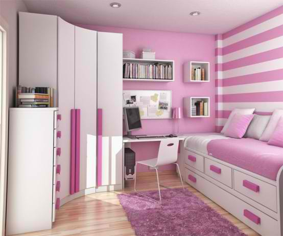 living room: Teen age Kids bedrooms furniture designs ideas.