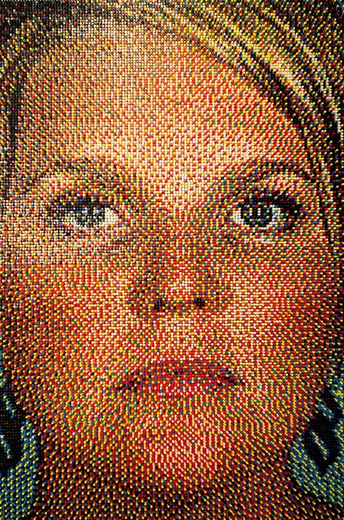 02-Eric-Daigh-Push-Pins-Portrait-Art-www-designstack-co