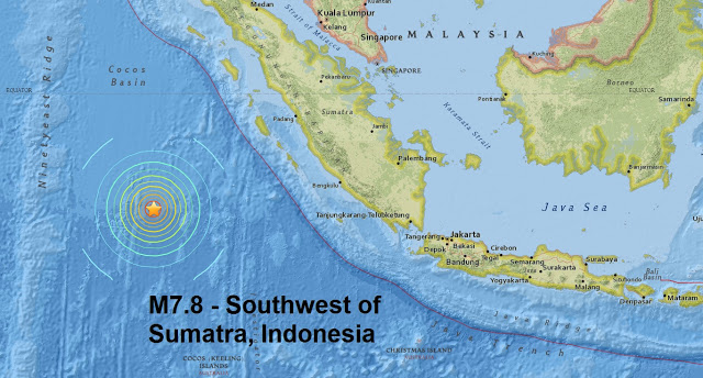 Indonesia agency issues tsunami warning after magnitude 7.8 earthquake off Sumatra it comes just..