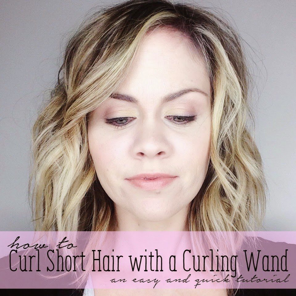 The quick journey style curling wand tutorial curling short hair with a curling wand urmus Gallery