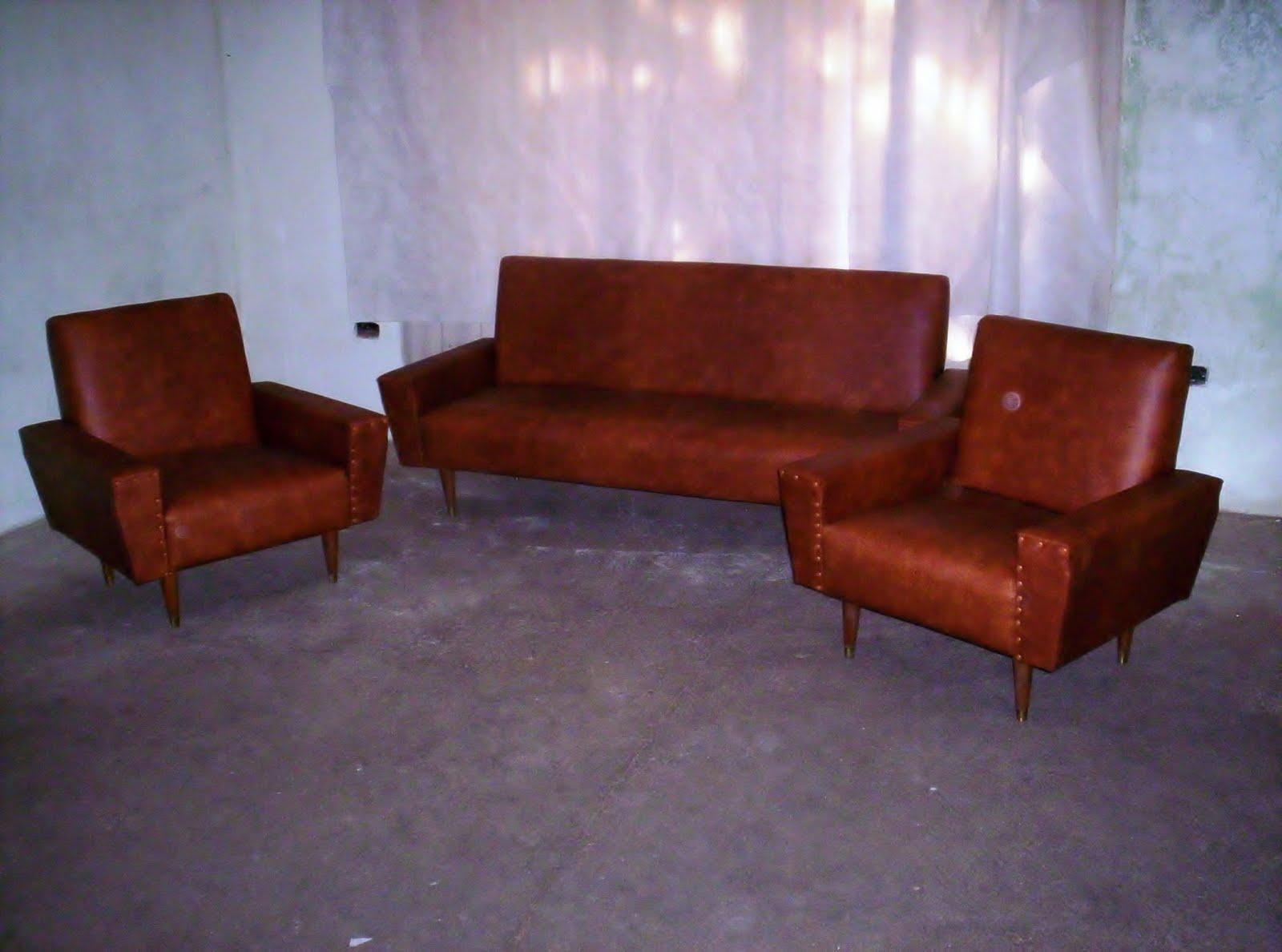 Reciclado de sillas y sillones juego de living americano for Reciclado de sillones