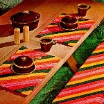 http://freevintagecrochet.com/placemat-patterns/star195/picnic-table-set-pattern