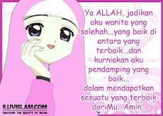 Doa Muslimah Solehah