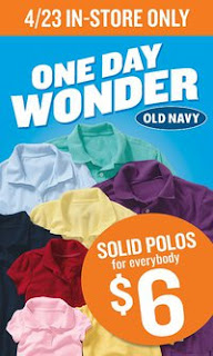 on Old Navy Polos Just $6