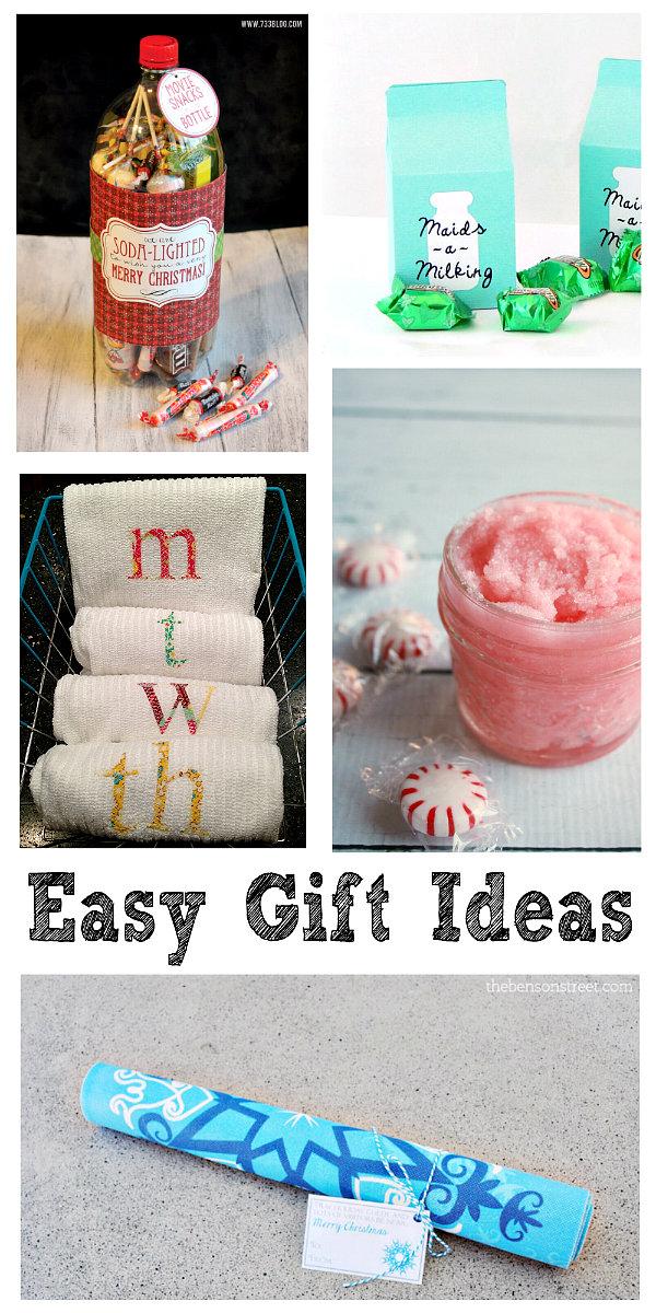 Easy Homemade Christmas Gift Ideas!