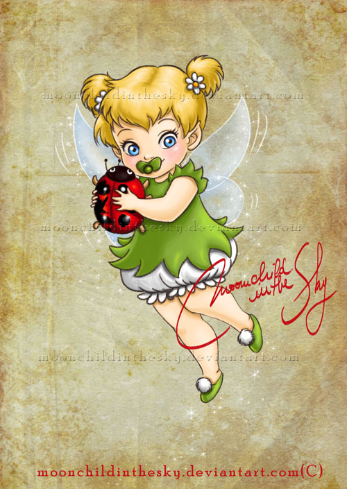 Child Tinker Bell por moonchildinthesky