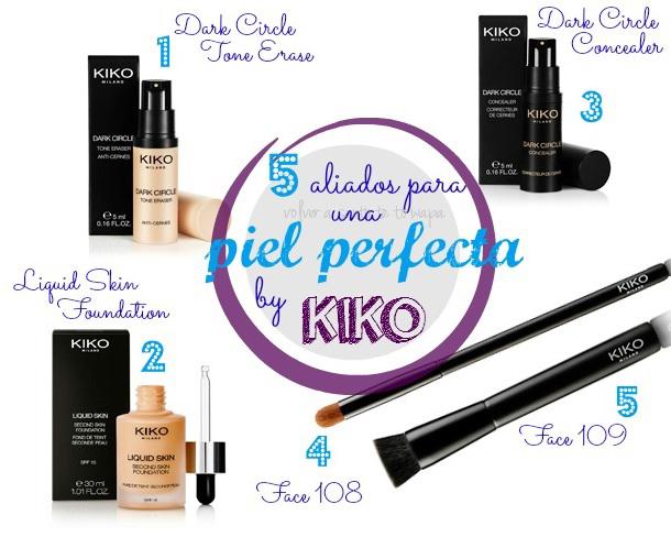 5 aliados para un rostro perfecto by KIKO