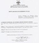 LEI. MUNICIPAL DE ÚTILIDADE PUBLÍCA  CÁCERES - MT