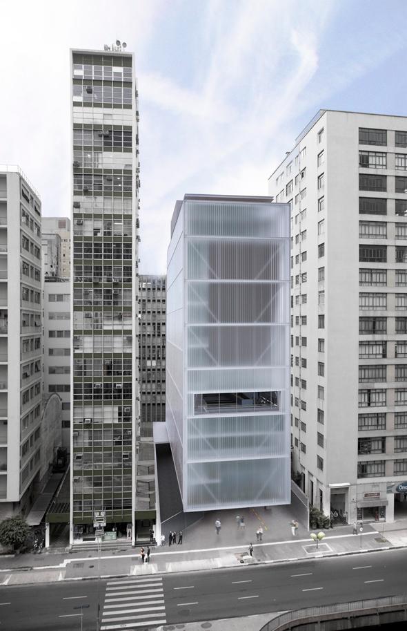 Novo museu ims na avenida paulista for Andrade morettin