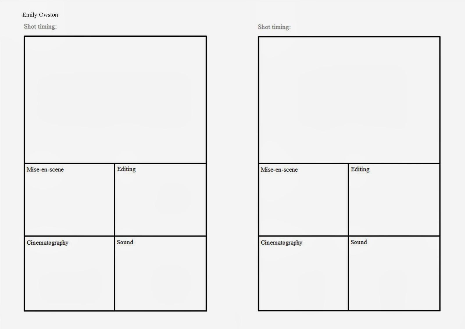 Erfreut Storyboard Vorlage Ks1 Fotos - Entry Level Resume Vorlagen ...